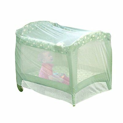 Nuby Baby Playpen Netting, Universal Size, White, Pack N Play Mosquito Net