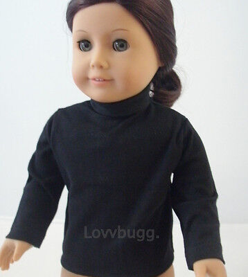 "Red Long Sleeve Turtleneck T-Shirt for 18"" American Girl Doll Clothes  FOUND IT!"