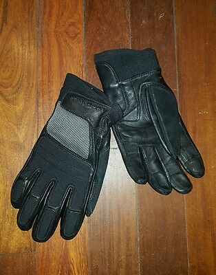 Motorcycle leather gloves - BMW Motorrad Air Flow 2. Genuine gloves SIZE LARGE