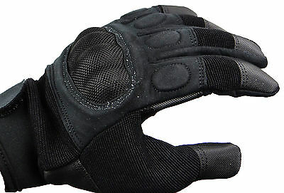 Tactical Military Combat Gloves Hard Knuckle Protection Police Army Security Men
