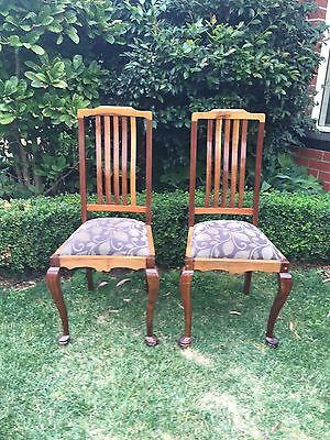 antique dining chairs - Pick Up Brighton VIC