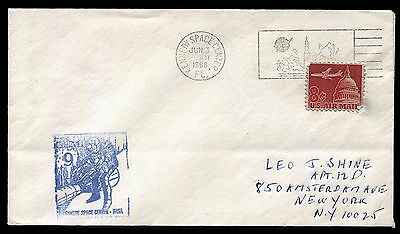 Space - Gemini 9 - launch cover with scarce blue NASA cachet