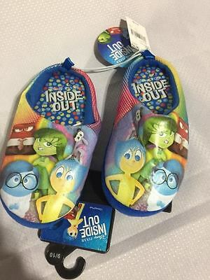 Kids Disney Inside Out Slippers Size 9/10