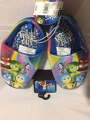 Kids Disney Inside Out Slippers Size 11/12