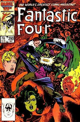 Fantastic Four #290 (May 1986, Marvel)