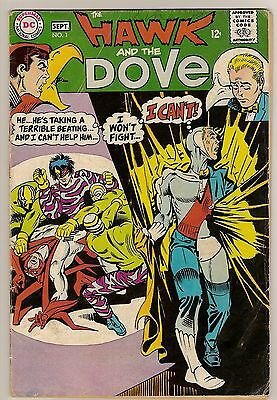 Hawk and Dove 1-6 Complete (1968 Series) Nice Condition VG- to VF- RW029.