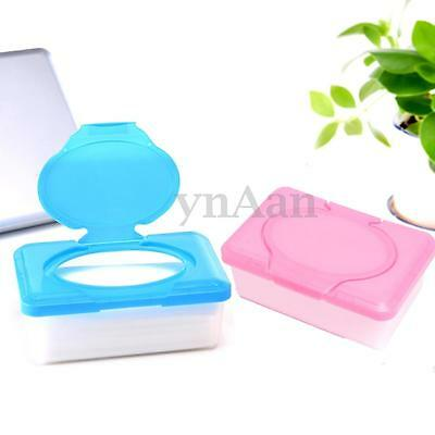 Dry Wet Tissue Paper Case Baby Wipes Napkin Storage Box Holder Cover Container
