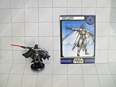 WotC Star Wars Miniatures Darth Vader, Jedi Hunter, Universe 37/60, Imp, Rare