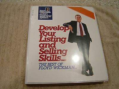 Floyd Wickmans Develop Your Listing And Selling Skills 16 Audio Cassettes