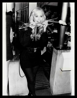 1986 CATHERINE HICKLAND Vintage Original Photo ONE LIFE TO LIVE GHOST TOWN gp