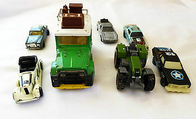 Collection of Misc. Toy Vehicles, Majorette, Kidco, Zylmex, Tomica x 7