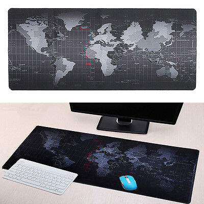 Large Size 700*300MM World Map Speed Game Mouse Pad Mat Laptop Gaming Mousepad