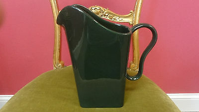 Franciscan Tiempo Water Pitcher Mid-Century Olive Green