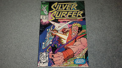 SILVER SURFER Marvel Comics #27 (Plastic Sleeve) Discount Shipping