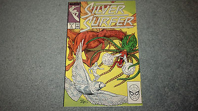 SILVER SURFER Marvel Comics #8 (Plastic Sleeve) Discount Shipping
