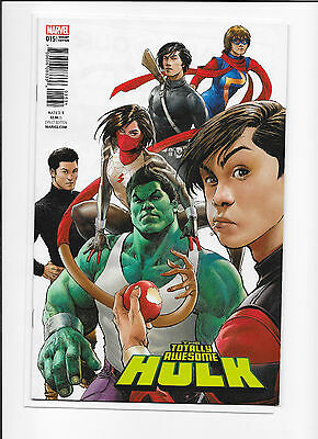 Totally Awesome Hulk #15 1:25 Mukesh Singh Variant NM/NM+ 1st Protectors Team
