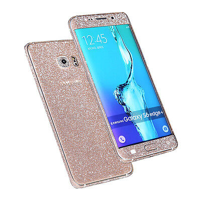 Beauty Bling Body Decal Protective Sticker Case For Samsung Galaxy S6 Edge+ Plus