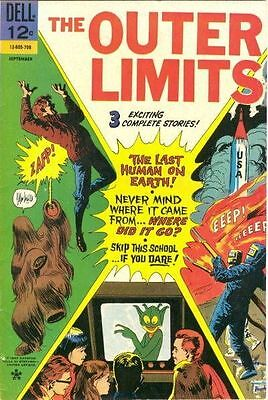 The Outer Limits #15 G/VG 1967 Dell Comic Book