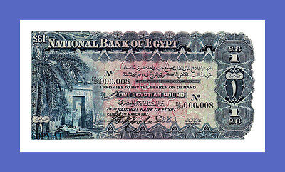 EGYPT - 1 Pounds 1917s - Reproductions