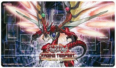 Yu-Gi-Oh Raging Tempest Sneak Peek Playmat - Limited Edition - Brand New