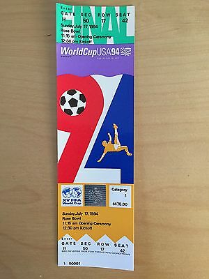 World Cup 1994 Final Ticket