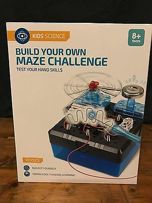 Build Your Own Maze Challenge Kids Science Kit