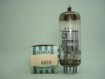 6Hf8 Tube. Mixed Brand Tube. Nos & Nib. Rc3.