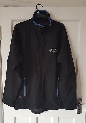 Callaway Golf Wind Stopper Jacket Tour Authentic Medium Fantastic Tour Look