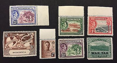 DOMINICA MNH stamps 7 stamps
