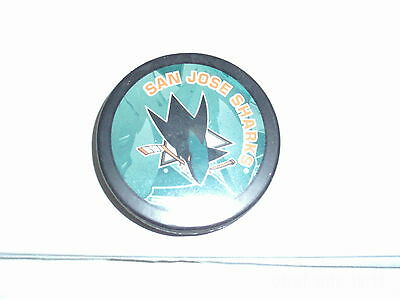 San Jose Sharks Puck - Excellent Condition