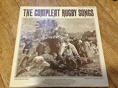 The Compleat Rugby Songs 2 Lp set UK vinyl release