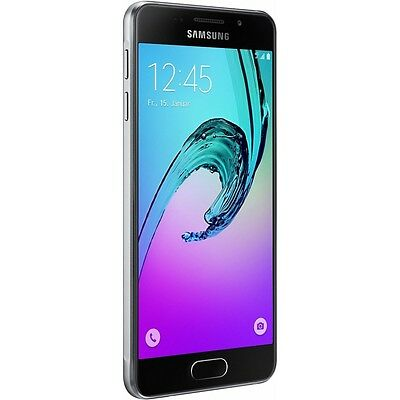 Samsung Galaxy A3 (2016) A310F Black Android Smartphone Handy Ohne Vertrag Wlan