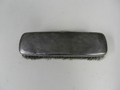 Sterling silver topped brush