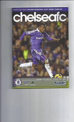 Chelsea v Hull City Football Programme 2008/09