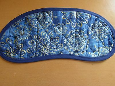 Bobbin Lace Pillow Pad for Continental Bobbins - Blue and Gold design
