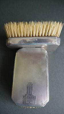 Art Deco Gents Hair Brushes