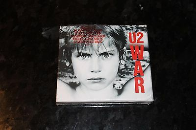 U2 - War Limited Edition 2 x CD Deluxe Set, Brand New and Sealed