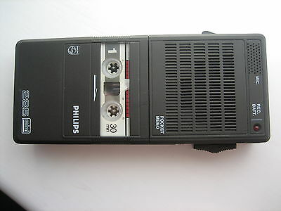 Philips Dictation Voice Recorder 285