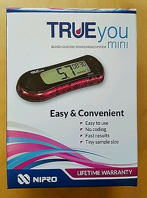 True you mini blood glucose monitor