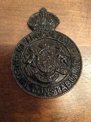 police cap badge - Metropolitian Special Constabulary,Kings Crown.
