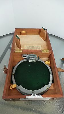 Vintage Marine Nautical AZIMUTH CIRCLE Pattern 6703 in Original Case