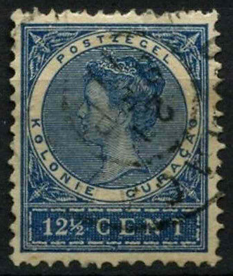 Curacao 1903 SG#61, 12.5c Blue Used #D43805