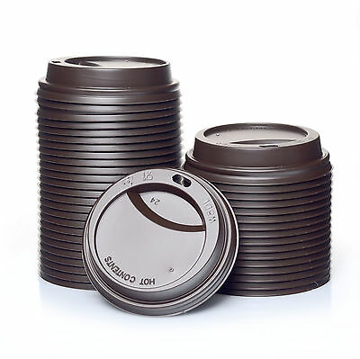 Coffee to go Deckel 0,2l braun Karton 1000Stk Ø80mm 200ml / 8oz