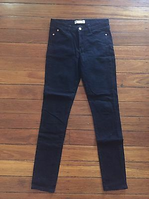 Women's Black Cotton On Skinny Jeans Size 10