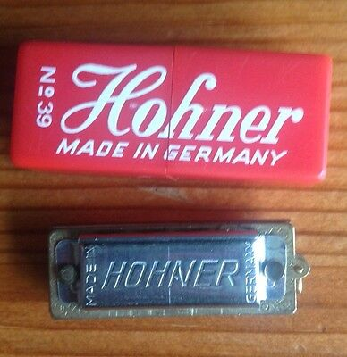 "Hohner Germany Miniature ""Little Lady"" Harmonica"