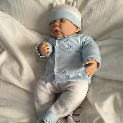 Ashton Drake 'Antonio Juan' boy doll, weighted& poseable 19 inch in original box