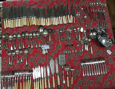 Silverware & stainless steel cutlery/condiments - Job lot