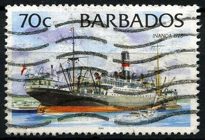 Barbados 1996 SG#1083 70c Ships Definitive 1996 Imprint Date Used #D43154