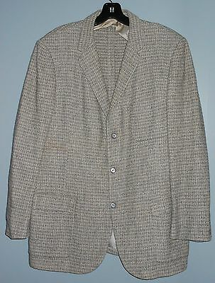 50s Flecked Hollywood Sports Jacket Rockabilly Atomic 1950s Suit Coat Business