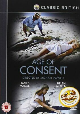 Age of Consent [DVD] [1969) [2008] - DVD  5KVG The Cheap Fast Free Post